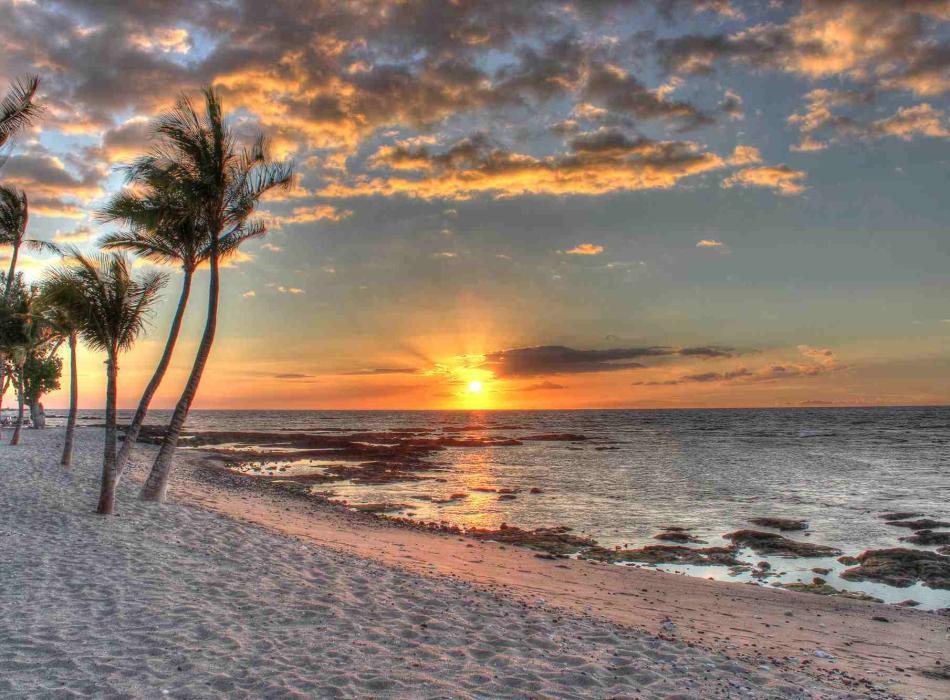 Mauna Lani - Sunset Pic
