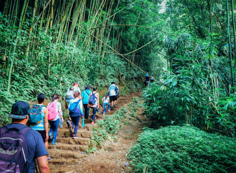 Our guides will take you through the trail and share cultural information