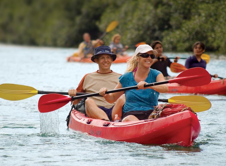 Kayak Kauai Rivers - Outfitters Kauai kayak tours