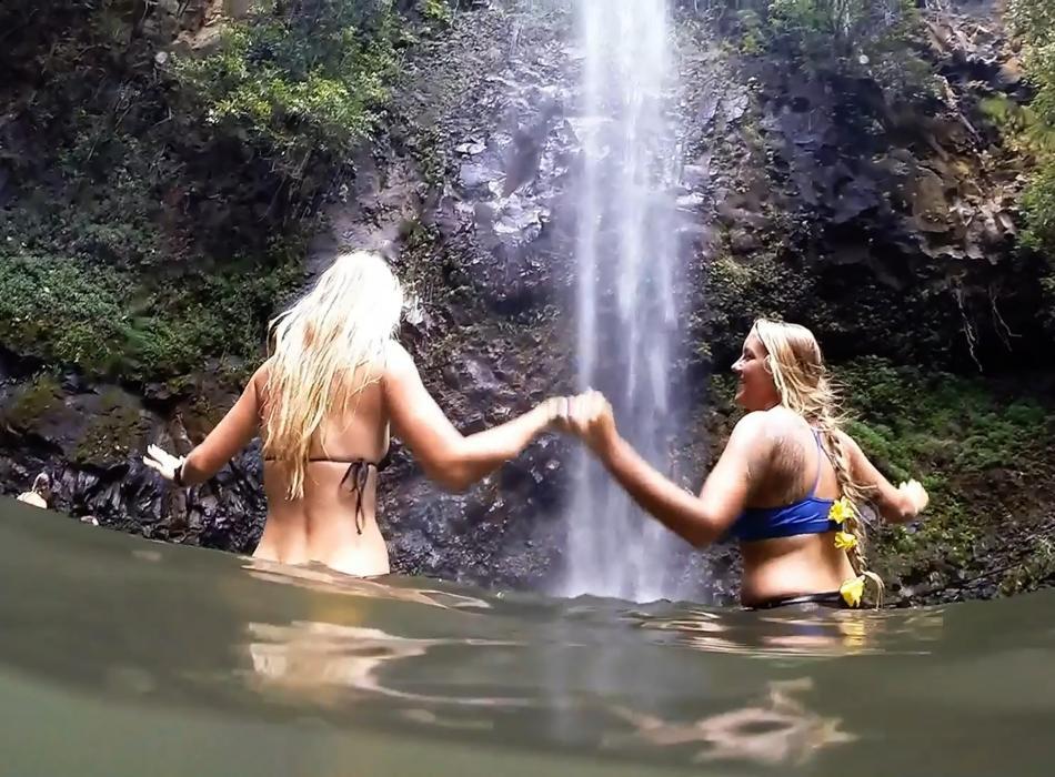 Kauai Waterfalls - Kayak and hike to waterfalls with Outfitters Kauai