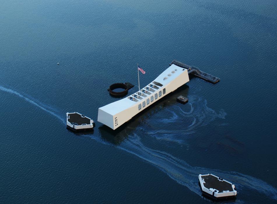 Pearl Harbor Aerial 1