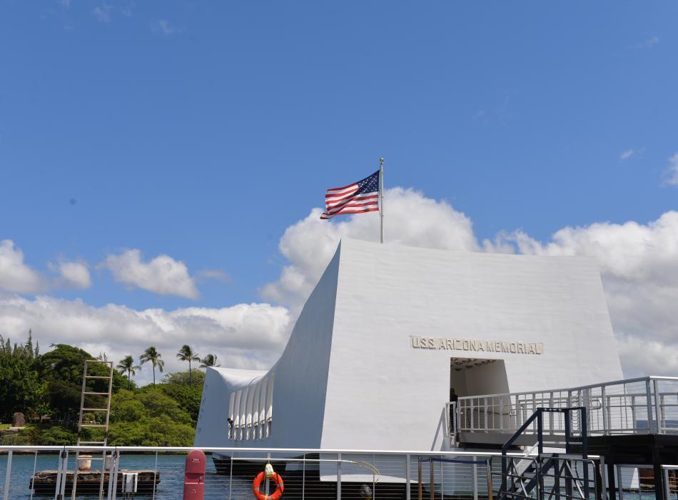 Arizona Memorial pier