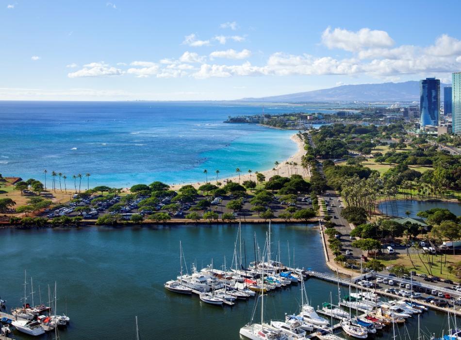 Ala Moana Beach Park - Stunning beach views
