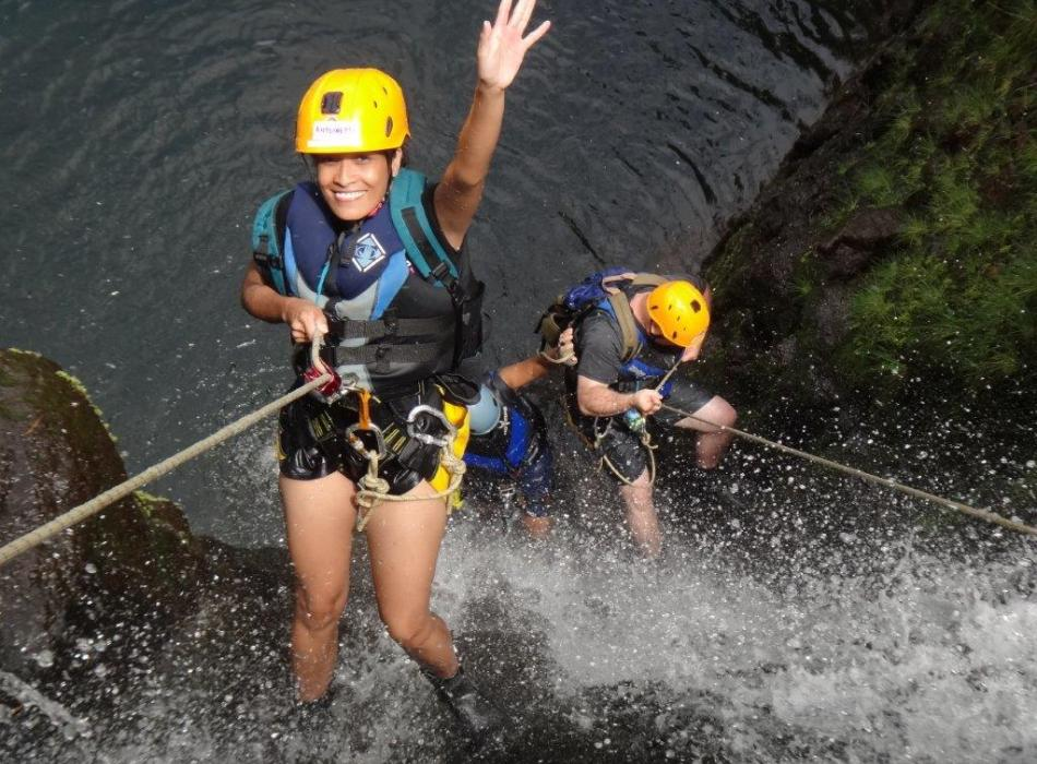 Guiding Rappelling & Waterfall Tours in East Maui Daily