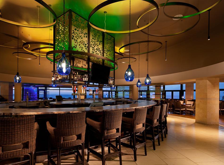 RumFire Poipu Beach Bar Seating