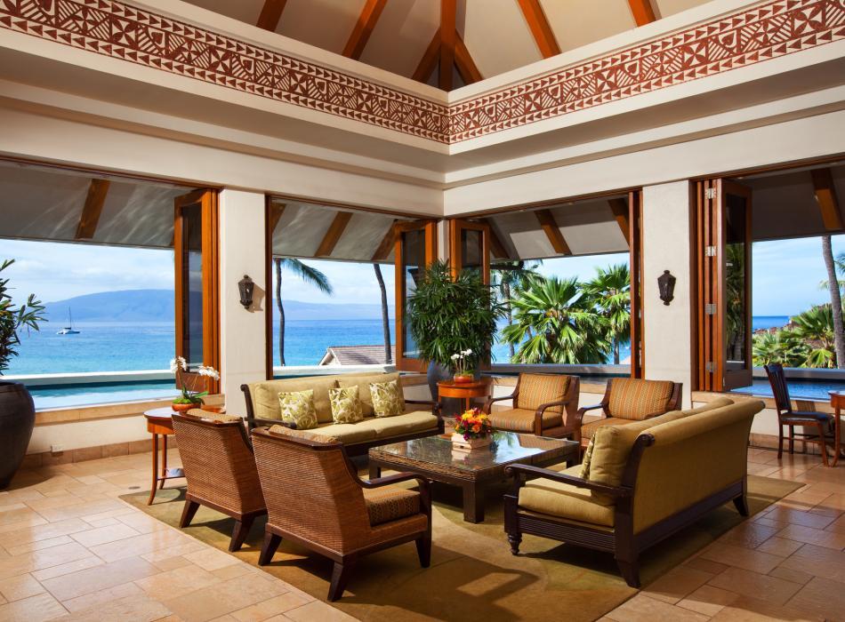 Sheraton Maui Lobby