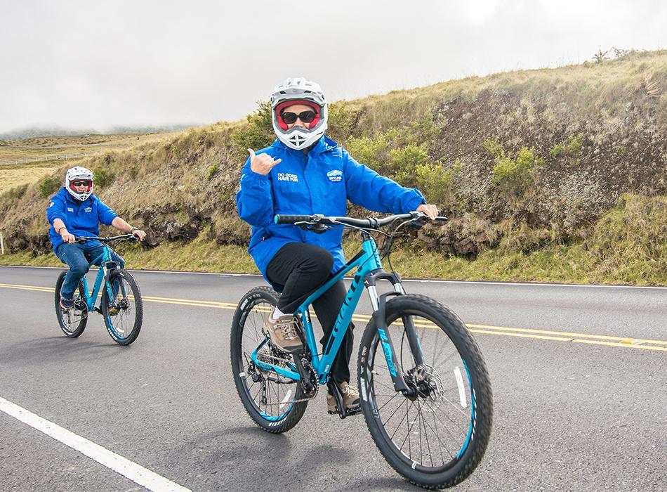 Skyline Hawaii - Haleakala Sunrise Bike Tour