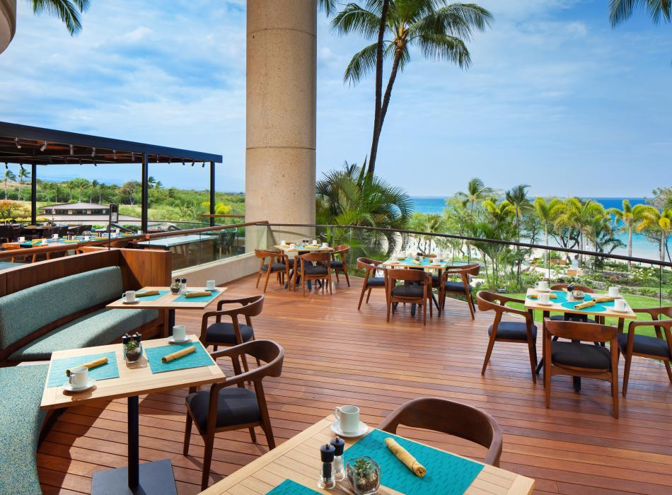 The Westin Hapuna Beach Resort 'Ikena Landing restaurant