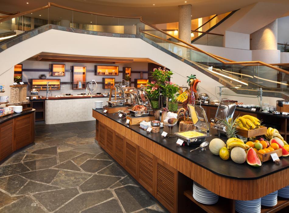 The Westin Hapuna Beach Resort breakfast buffet