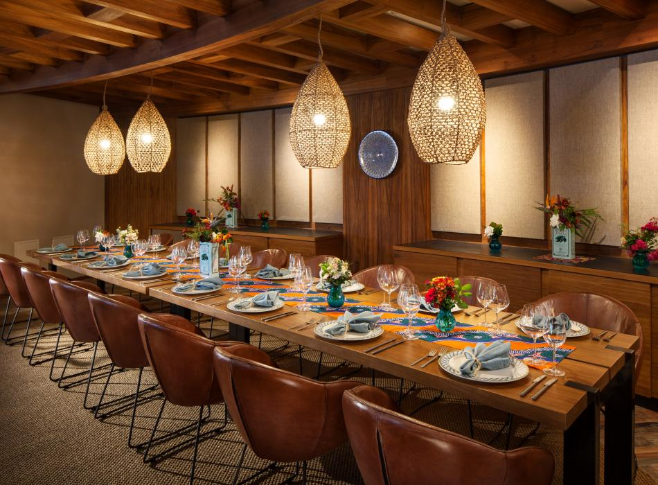 The Westin Hapuna Beach Resort Meridia private dining room