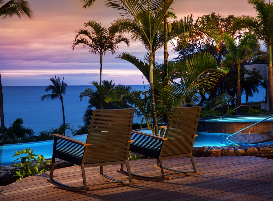 The Westin Hapuna Beach Resort deck chairs