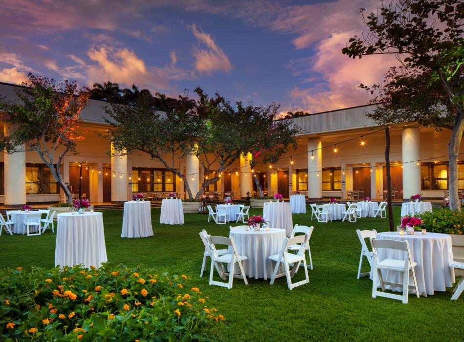 The Westin Hapuna Beach Resort Courtyard Reception