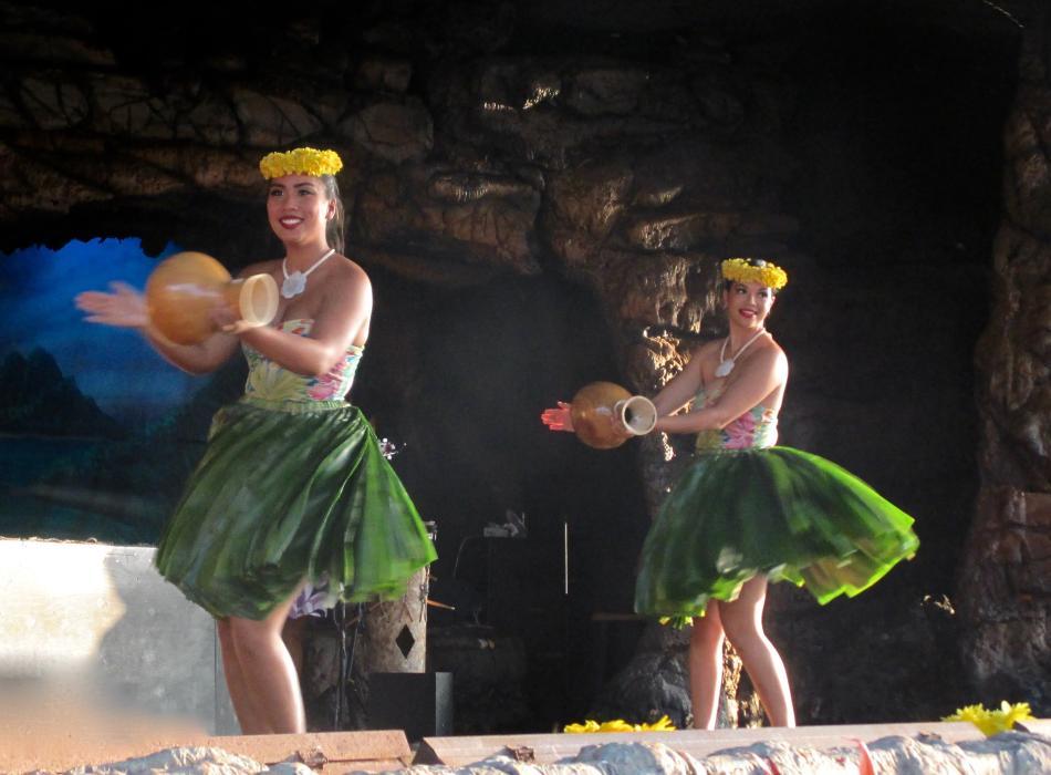 Take in a luau