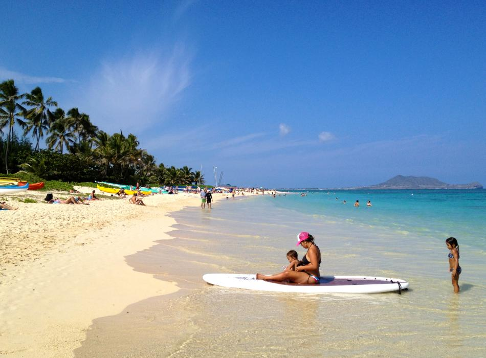 Beautiful beaches await you in Hawaii