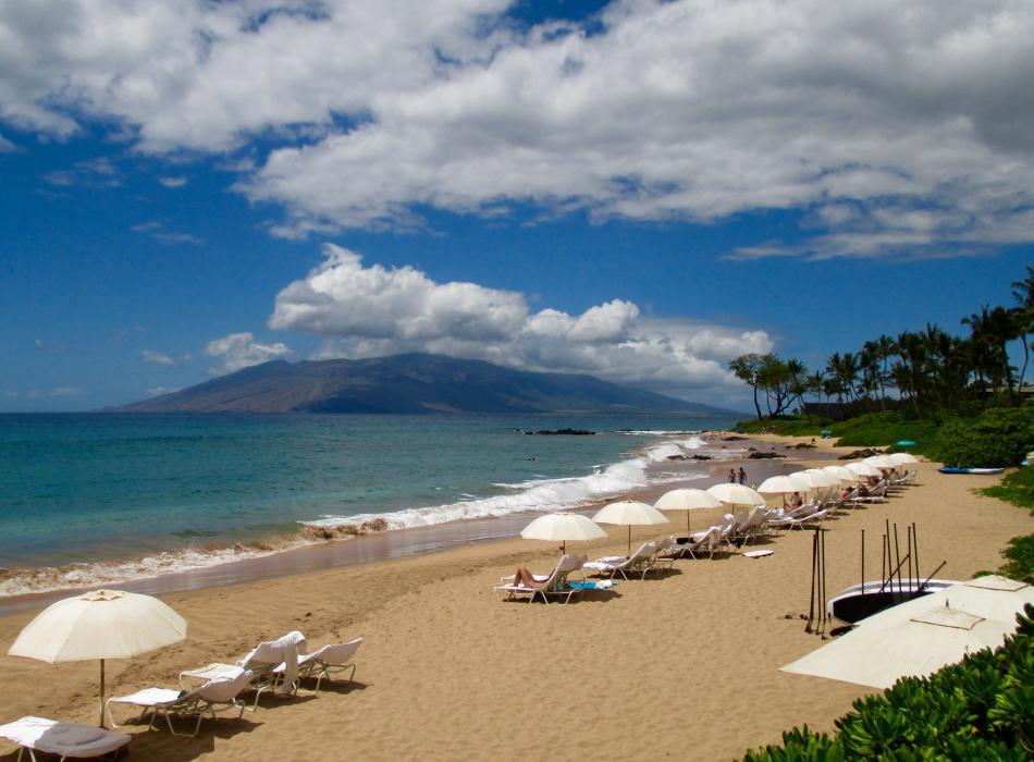 Soak up some sun on Maui
