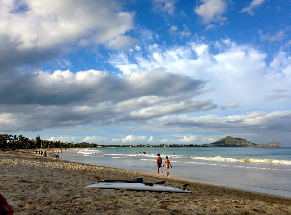 Enjoy walks on the beach