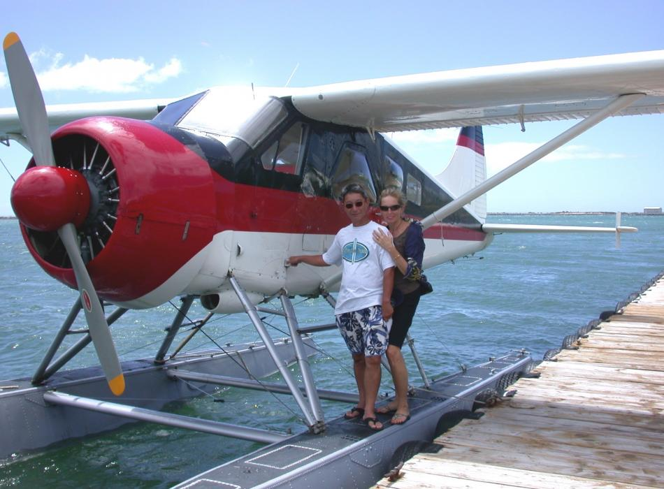A float plane tour of Oahu is awesome!