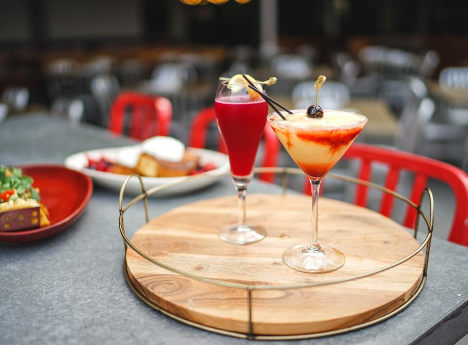 Handcrafted cocktails at Maui Brewing Co Waikiki