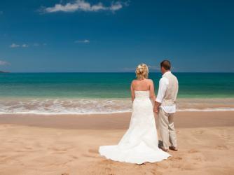 Affordable Maui Beach Wedding