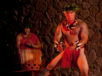 Male hula dancer - Male hula dancer