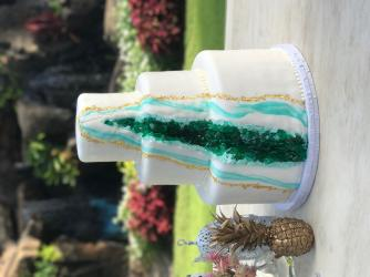 Celebrations Maui Geode Cake