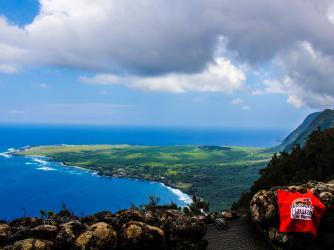 Kalaupapa Leper Colony Lookout, Molokai