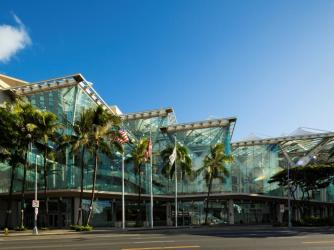 Hawaii Convention Center (credit Dana Edmunds)