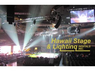 Blaisdell Center Staging, Rigging & Lighting