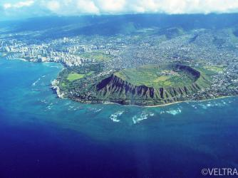 Diamond Head Aerial View