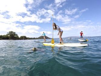 Hawaiian Paddle Sports Stand Up Paddle Boarding