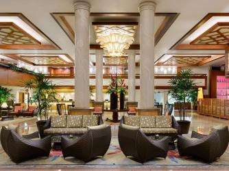 Hilton Waikiki Beach Lobby