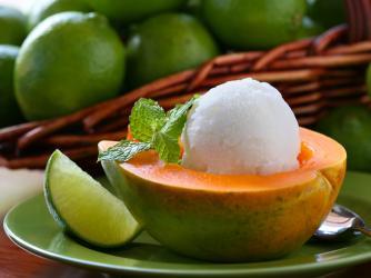 Papaya Sorbet