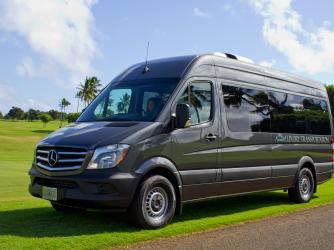 Kauai Luxury Transportation, Mercedes Sprinter Van