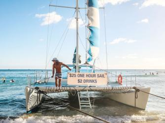 Kepoikai II - $25 Sail + $2 Drinks