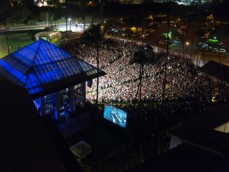 Concerts at The MACC - An evening concert at The MACC- a beautiful outdoor venue for music under moonlight!