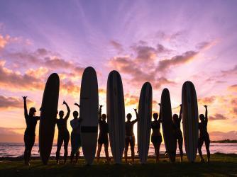 Sunset Surf