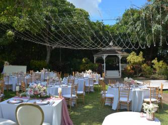 Wedding at the Tropical Gazebo