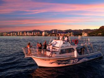 New Waikiki Sunset Cruise! 'Ocean and You'