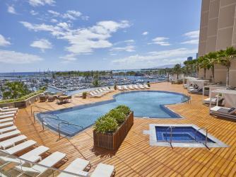 Prince Waikiki Pool Deck