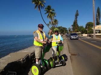Segway Maui Senior Lahaina tour