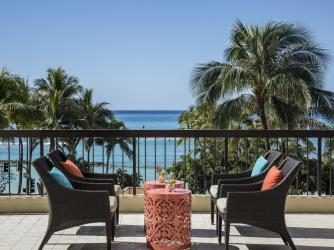 Unwind with stunning views of the Pacific Ocean