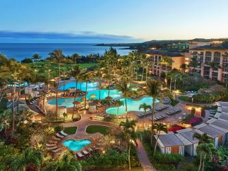 The Ritz-Carlton, Kapalua Aerial