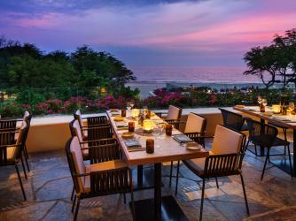 The Westin Hapuna Beach Resort Meridia Restaurant al fresco dining