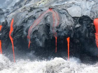Lava Ocean Tour - Take a tour to watch the lava flow into the ocean!