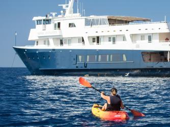 36-guest boutique yacht Safari Explorer