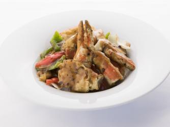 Alaskan King Crab - Black Bean Sauce