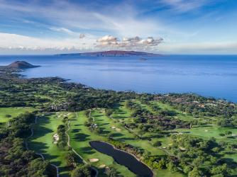 Aerial View of Wailea, Maui