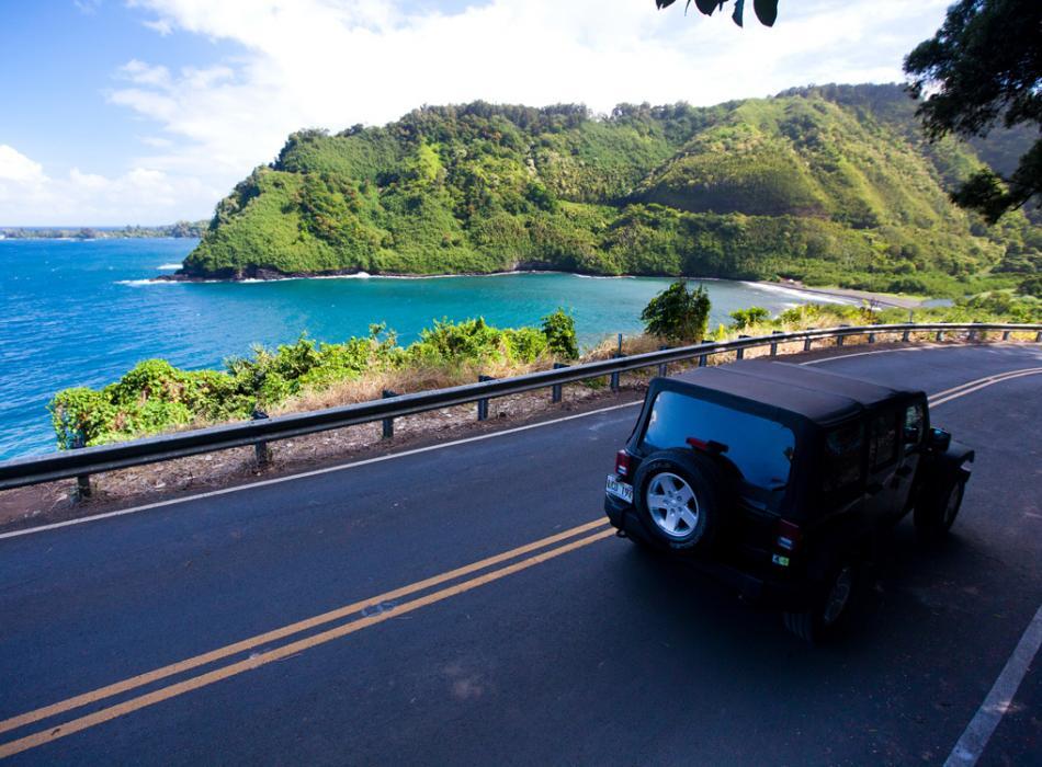 Top Maui Drives