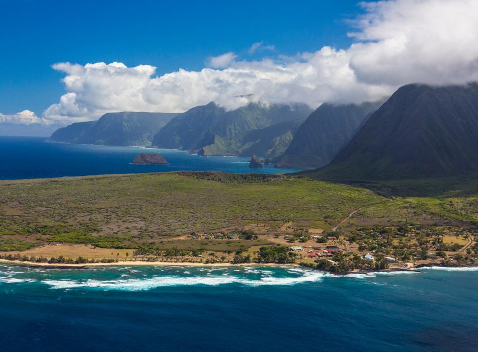 île de Molokai à Hawaii
