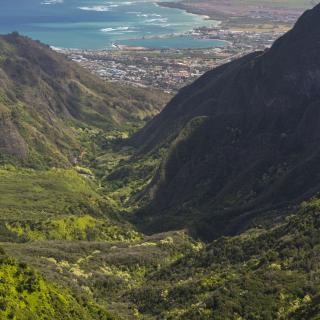Iao Valley State Park in Central Maui